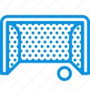 football, game, gate icon