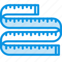 measure, ruler, size icon