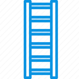 ladder, stepladder, tools icon