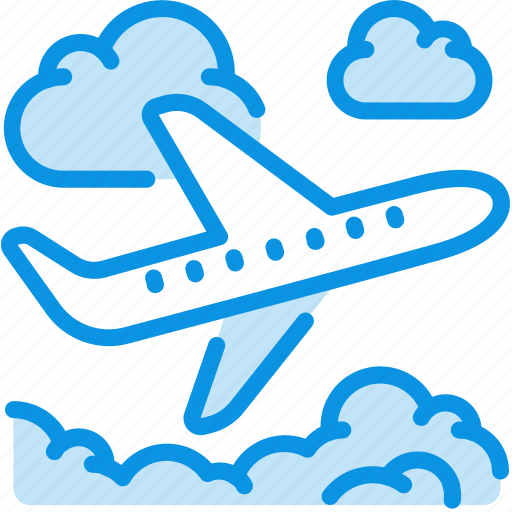 Clouds, flight, plane icon - Download on Iconfinder