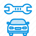 car, repair, service icon