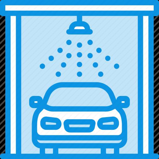 auto, car, wash icon