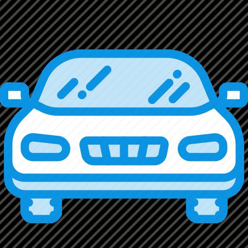 auto, car, front icon