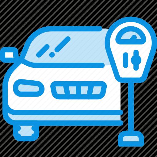 Meter, parking, auto icon - Download on Iconfinder
