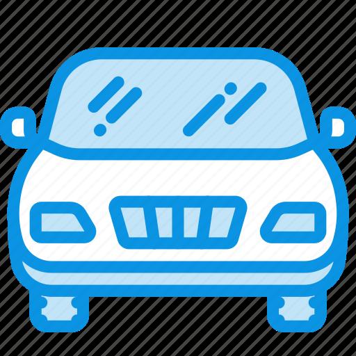 auto, front, transport icon