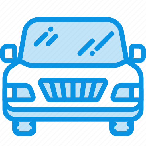 auto, front, pickup icon