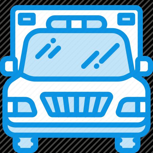ambulance, emergency, transport icon