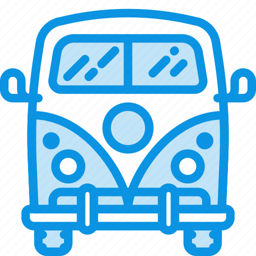 Hippy, vacation, van icon - Download on Iconfinder