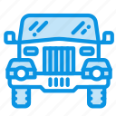 jeep, safari icon