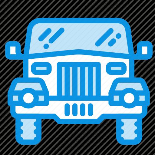 jeep, safari icon