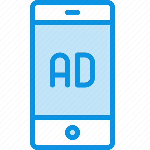 ad, advertise, mobile icon