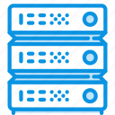 hosting, rack, server icon