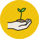 bio, ecology, environment, green, growth, nature, plant icon
