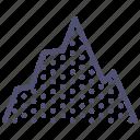 hill, mount, mountain, rise, terrain, ground