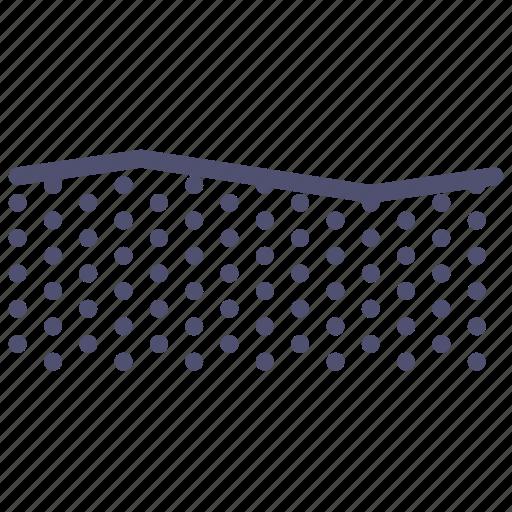 champaign, field, plain, terrain icon