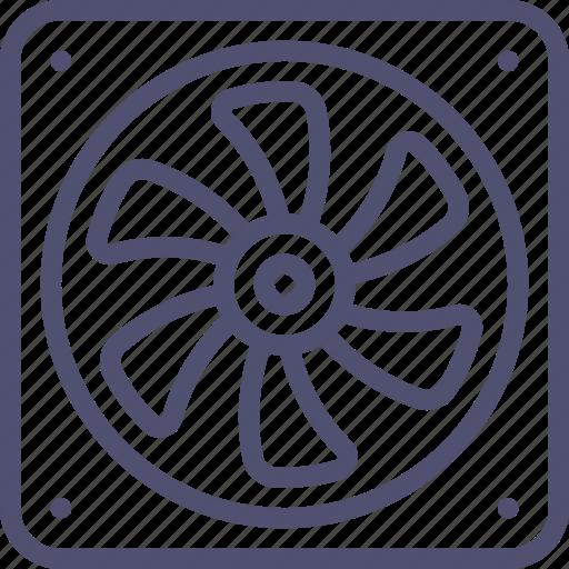 blower, cooler, fan, ventilator icon