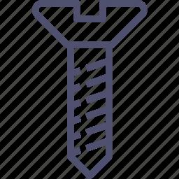 helix, pin, renovate, repair, screw icon