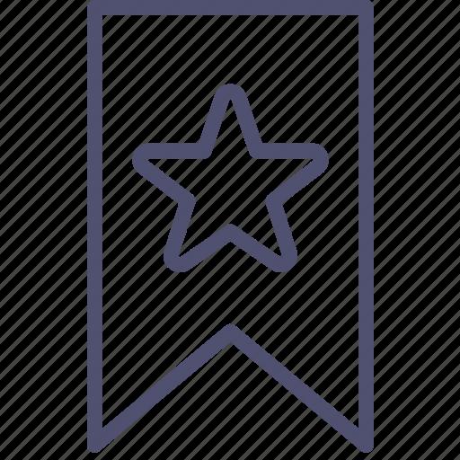 bookmark, favorite, link, mark icon