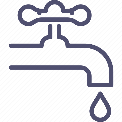 bill, communal, faucet, payments, pipe, valve, water icon