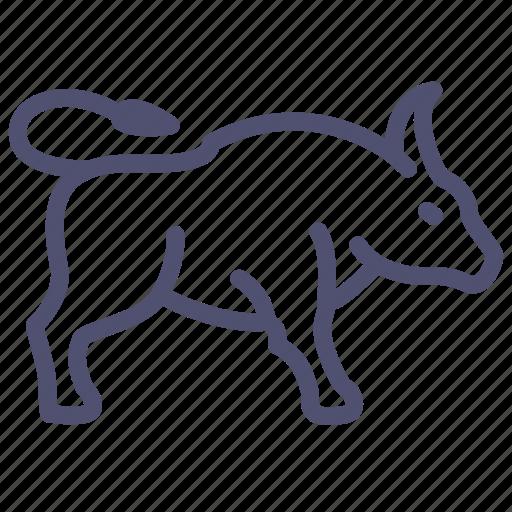 animal, buffalo, bull, yak icon