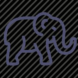 animal, bishop, elephant, mammal icon