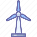 ecology, energy, wind icon