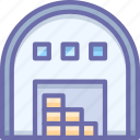 depot, storehouse, warehouse icon