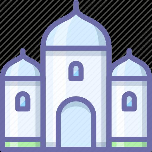 building, mosque, muslim icon