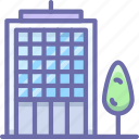 company, office, skyscraper icon
