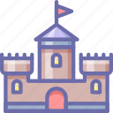 castle, tower icon