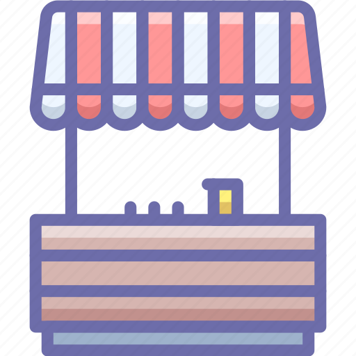 Fair, lemonade, stand icon - Download on Iconfinder