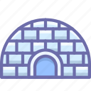 icehouse, igloo icon