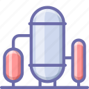 factory, silo, storage icon