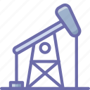 drill, drilling, oil icon