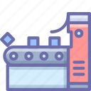 conveyor, factory icon