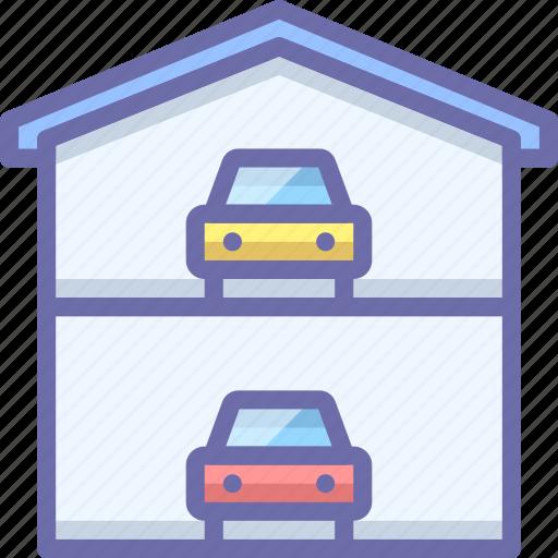 car, garage, service icon