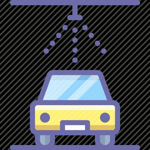 car, service, wash icon