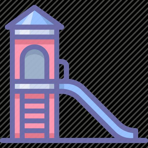 kids, park, slides icon