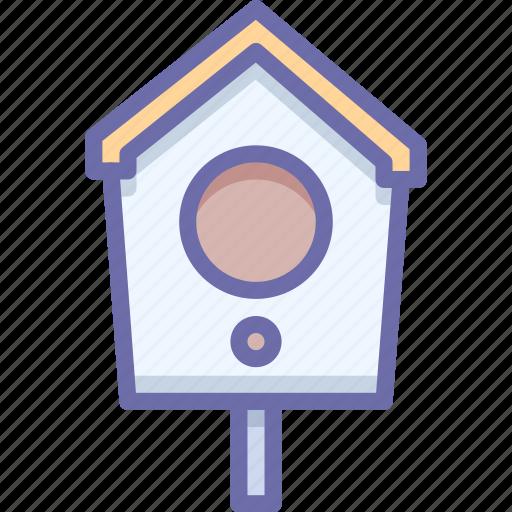 bird, birdhouse, box icon