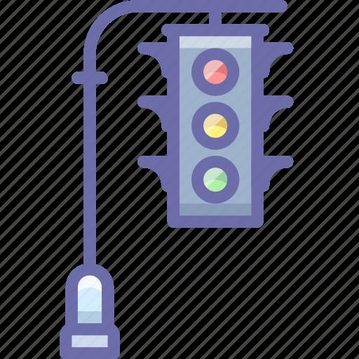 lights, traffic, transport icon