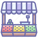 food, market, store icon