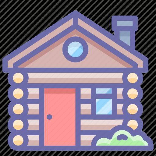 cabin, house, hut icon