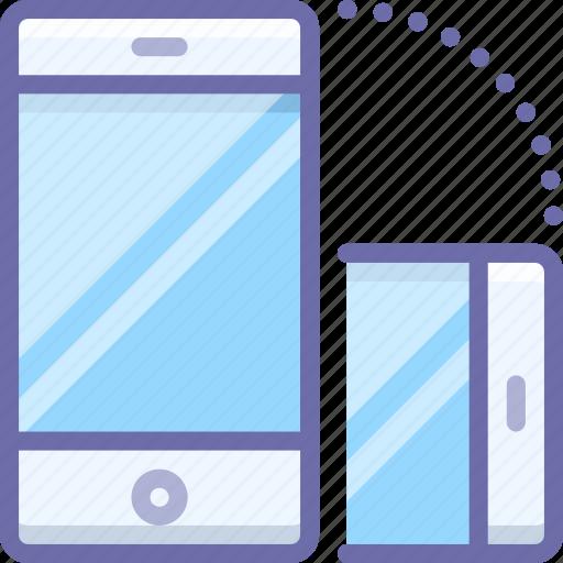mobile, rotate, smartphone icon