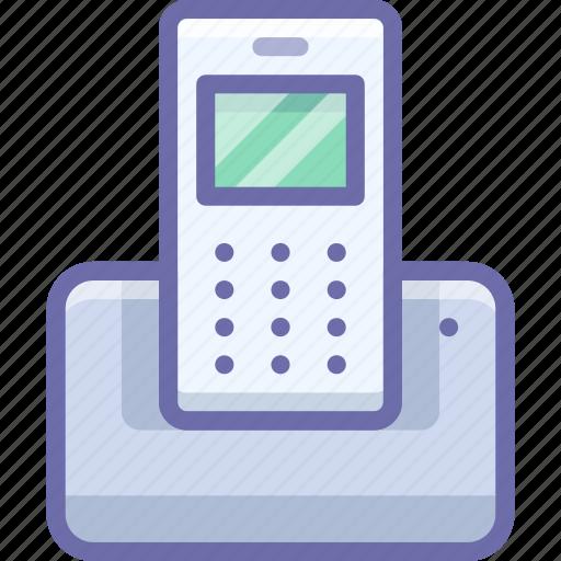 device, landline, phone icon