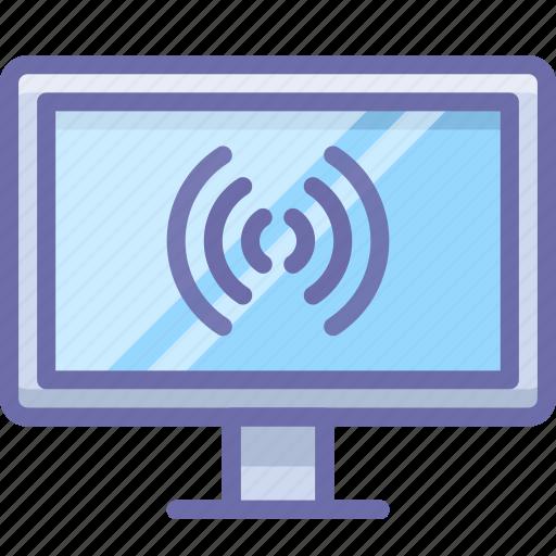 display, internet, tv icon