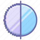 antialiasing, digital, quality icon