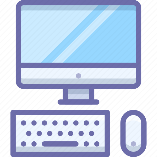 display, keyboard, mouse icon