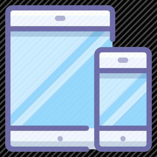devices, ipad, iphone icon