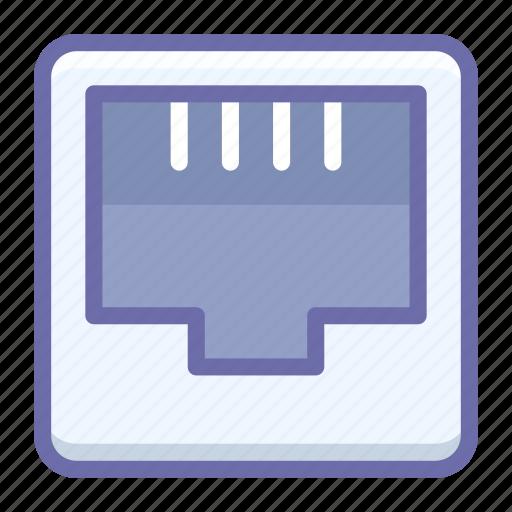 ethernet, port icon