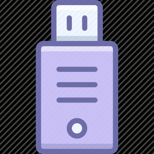 disk, flash drive, usb icon
